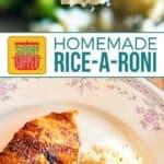 Homemade Rice-A-Roni Gluten Free