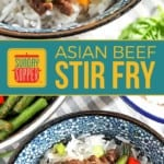 Asian Beef Stir Fry with Green Beans on Pinterest