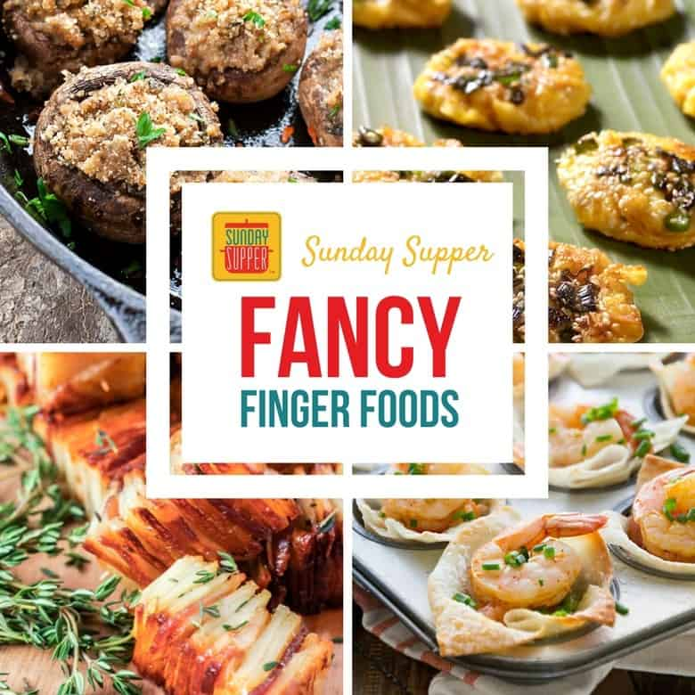 Fancy Finger Food for Awards Show Parties