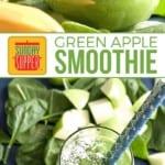 Green Apple Smoothie on PInterest