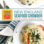 New England Seafood Chowder on Pinterest