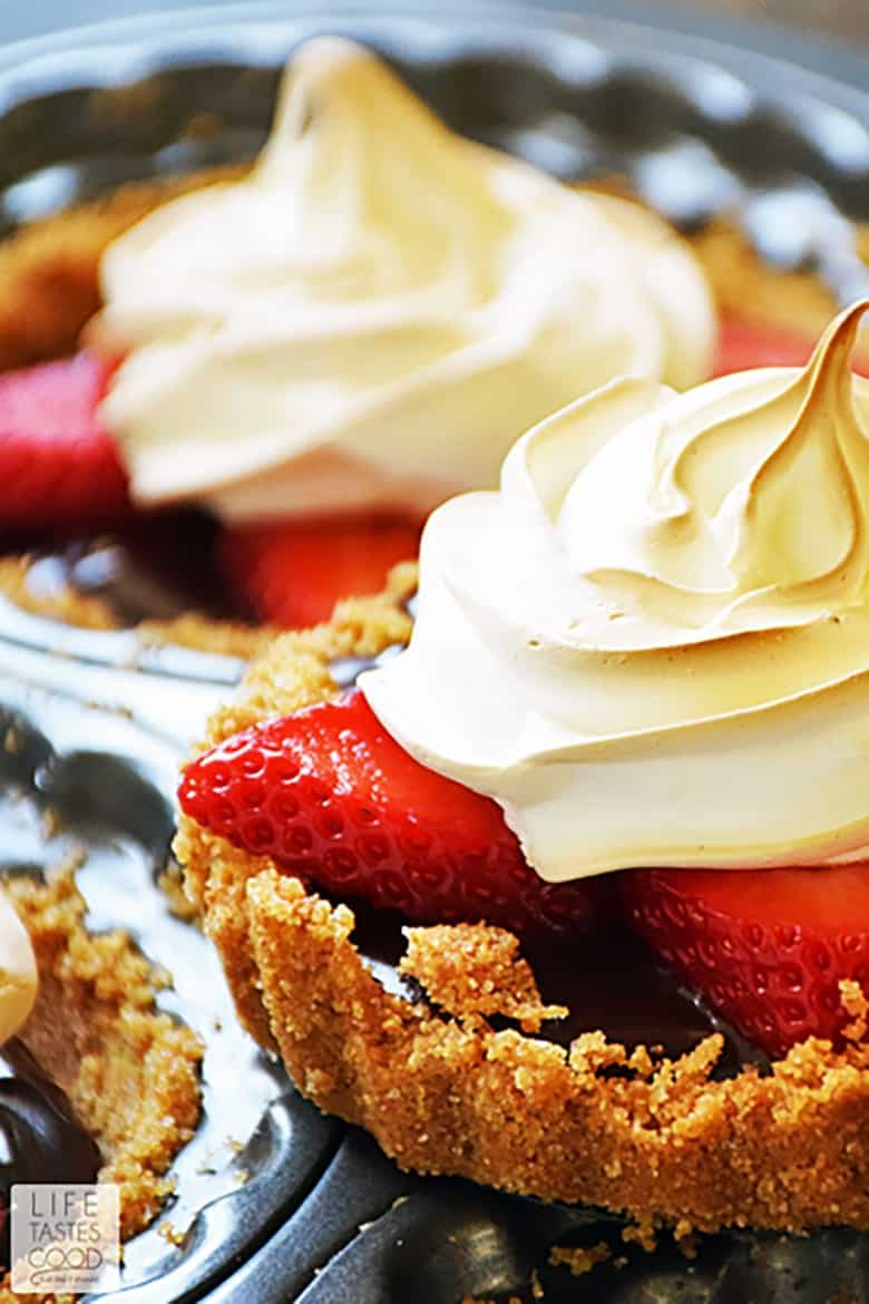 Strawberry S'mores Tartlets