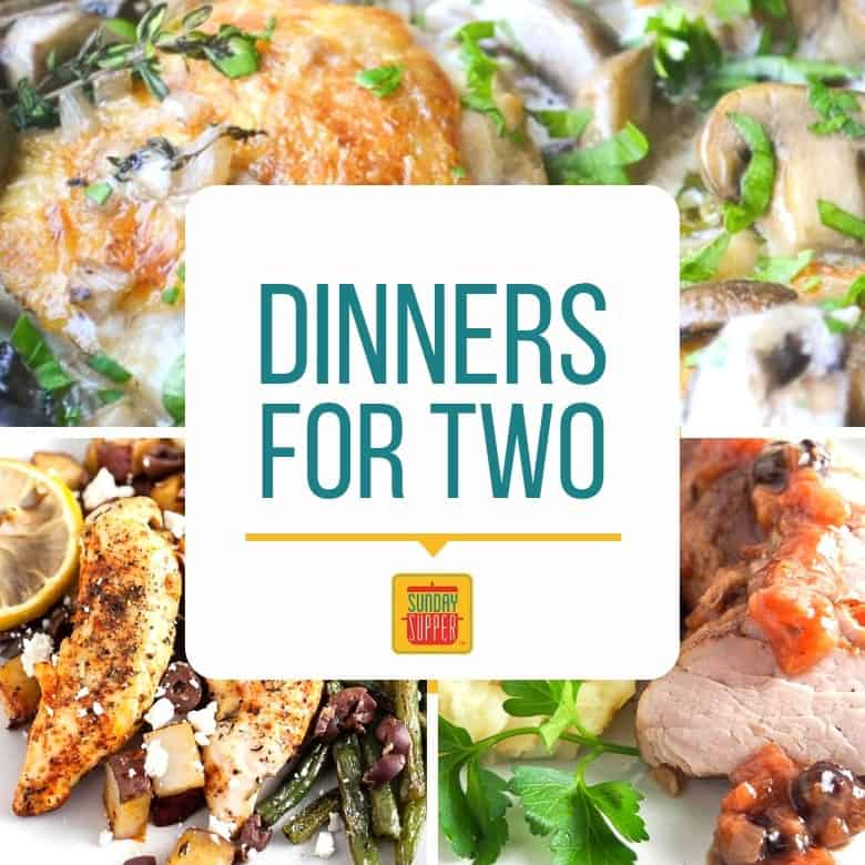 Simple Dinner Ideas For Two