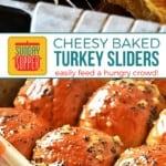 Turkey Sliders Recipe on Pinterest