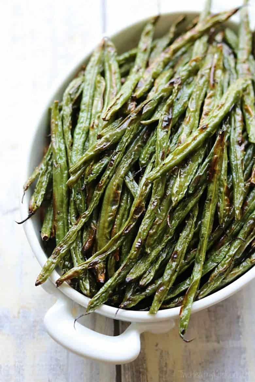 Blistered Green Beans
