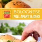 Bolognese Pull Apart Sliders
