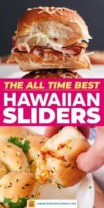 Hawaiian pull-apart sliders pin image