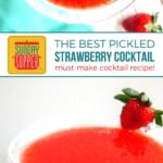 Pickled Strawberry Cocktail on Pinterest