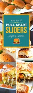 Pull Apart Sliders for a Crowd