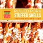 Pulled Pork Stuffed Shells on Pinterest