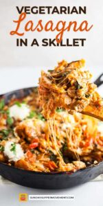 Save Cast Iron Skillet Lasagna on Pinterest for later!