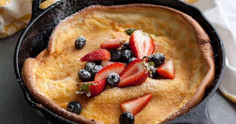 Berries and Cream Dutch Baby
