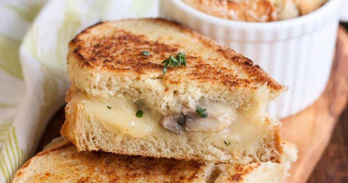 Gourmet grilled cheese recipes and best soups