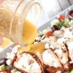 Greek Orzo Pasta Salad with Chicken on Pinterest