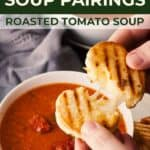 Save Grilled Cheese & Soup Pairings on Pinterest