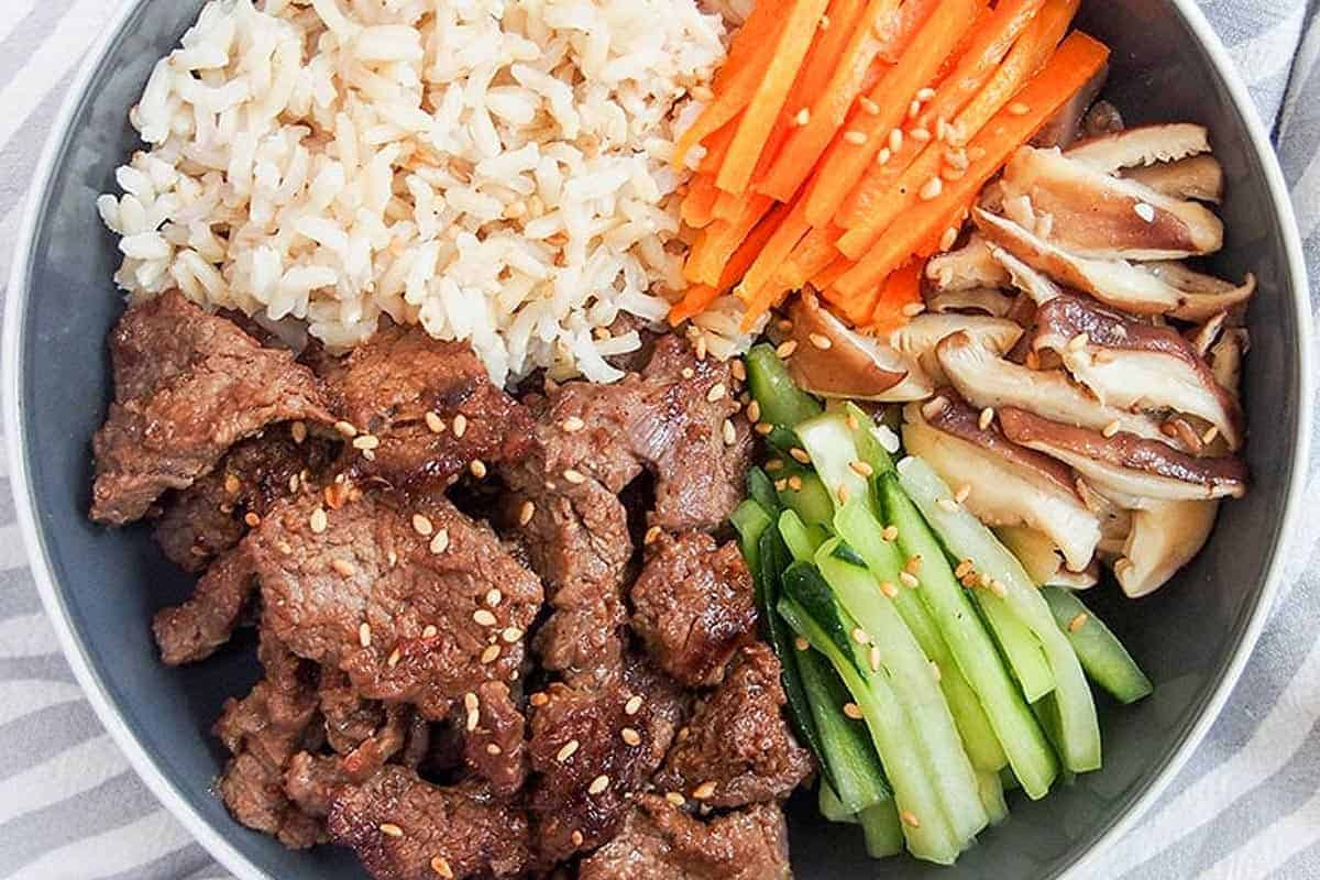 Korean Beef Bulgogi Korean Bbq Beef Bowls Sunday Supper Movement