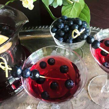 Blueberry Sangria #SundaySupper