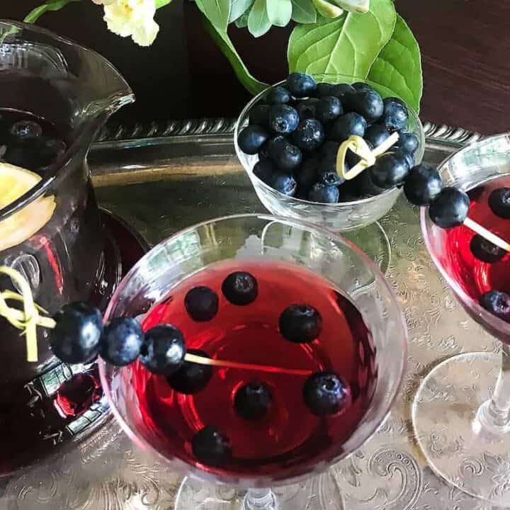 Blueberry Sangria #SundaySupper