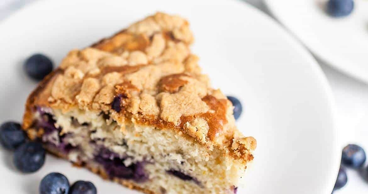 Blueberry Buckle #SundaySupper