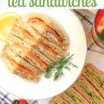 English Tea Sandwiches on Pinterest