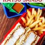 Katsu Sando (Japanese Pork Cutlet Sandwich)
