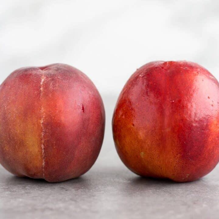Peach vs Nectarine