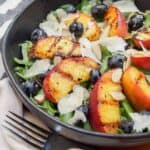grilled peaches salad
