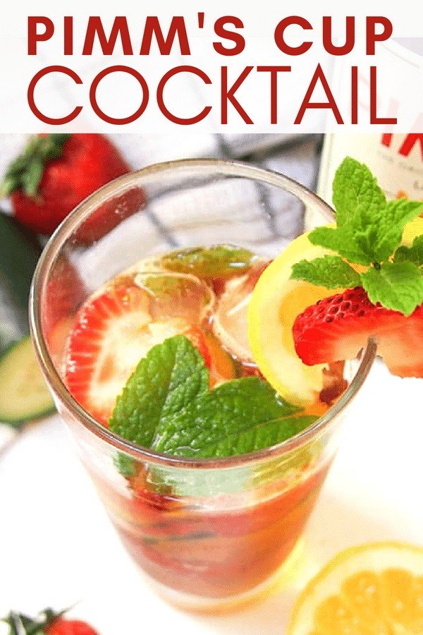Pimm's Cup Cocktail on Pinterest