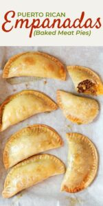 Save Puerto Rican Baked Empanadas on Pinterest for later!