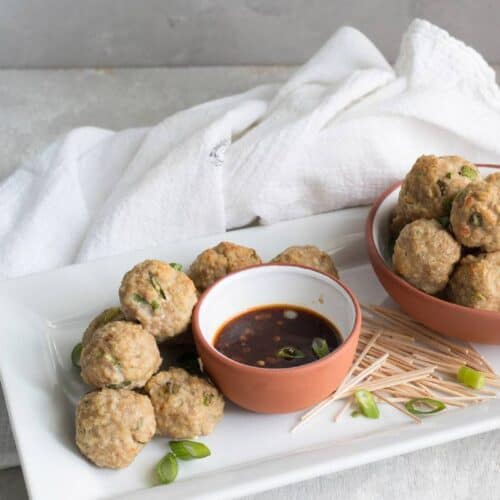 thai chicken meatball soup