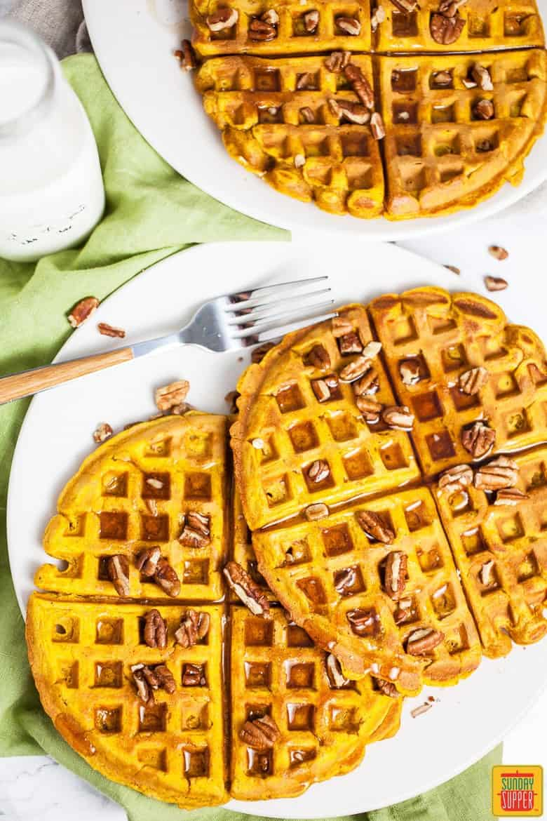 Sweet Pumpkin Recipes - Pumpkin Waffle Recipe