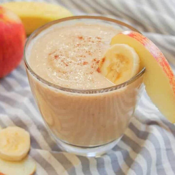 apple banana smoothie