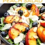 Grilled Peach Salad on Pinterest