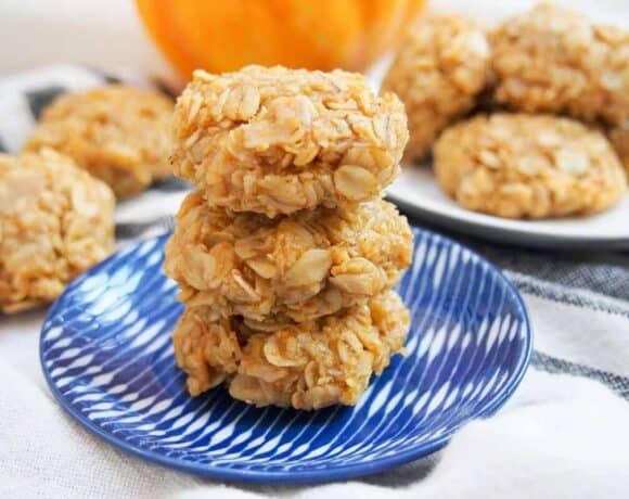 no bake pumpkin cookies