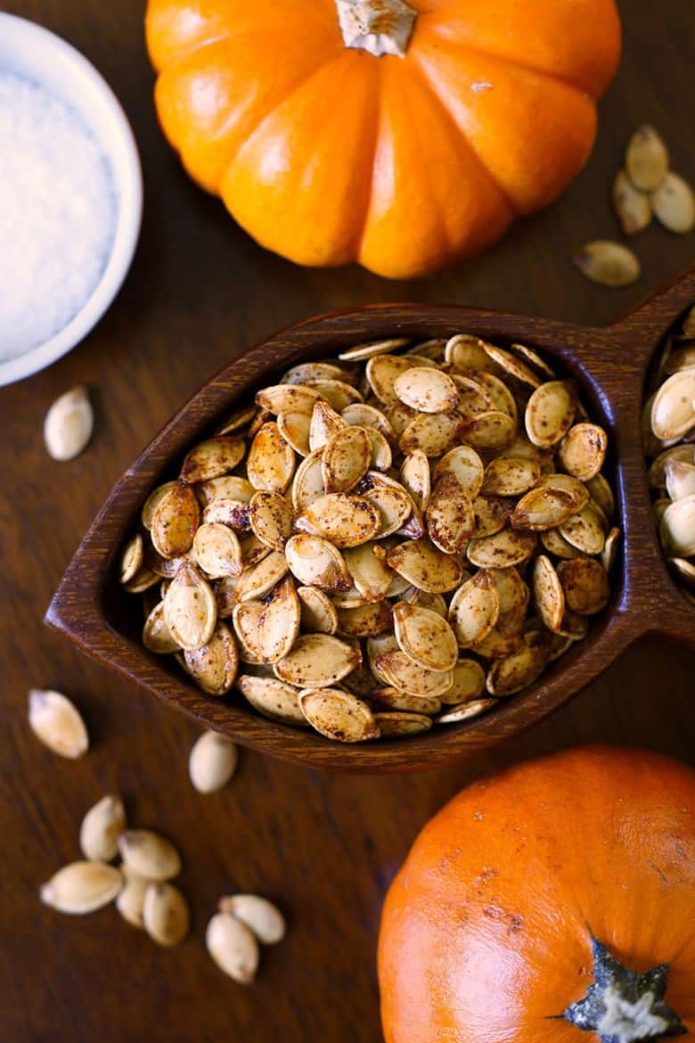 Savory Pumpkin Recipes - Roasted Pumpkin Seeds