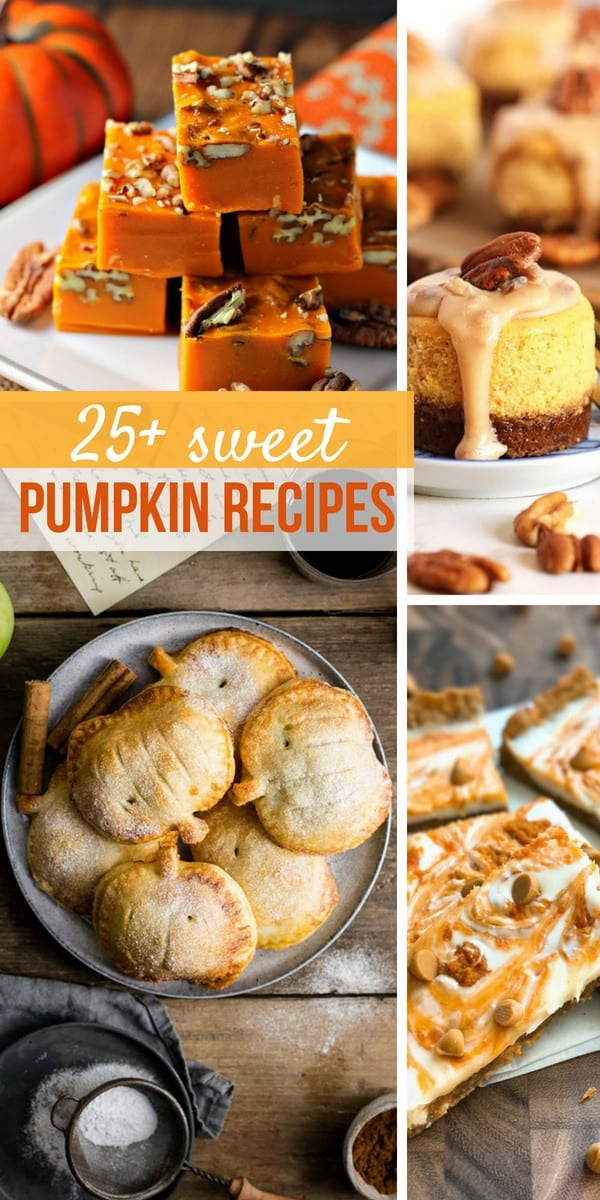 Sweet Pumpkin Recipes on Pinterest