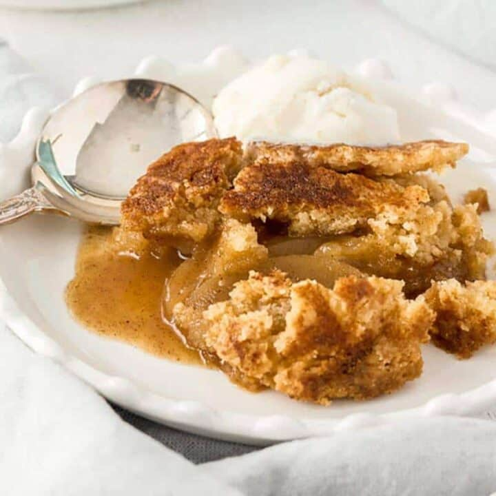 This Apple Dump Cake is a seriously easy dessert and totally comforting. Perfect for fall, this recipe will show you how to make Apple Dump Cake with minimal effort.