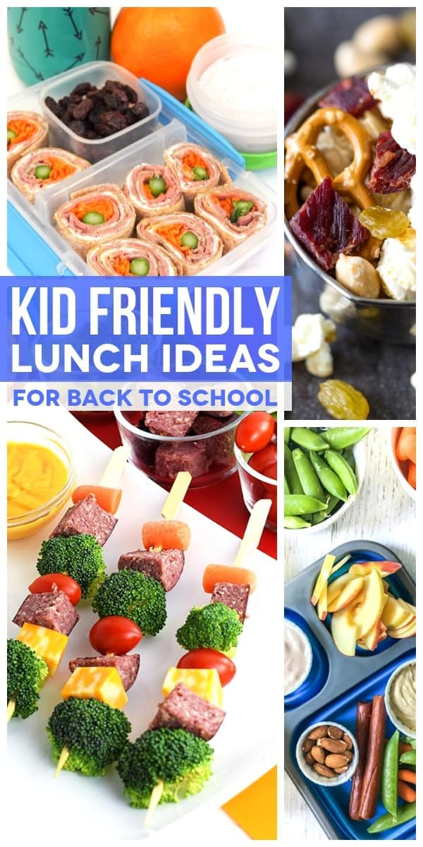 Kid Friendly Lunch Ideas: Pin