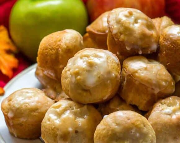 Apple Fritter Apple Cinnamon Muffins by Flavor Mosaic