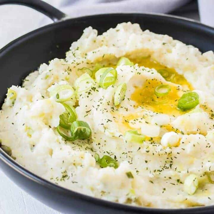 These Irish Mashed Potatoes, also known as Colcannon, is the perfect Thanksgiving side dish that's full of flavor but still easy to make.