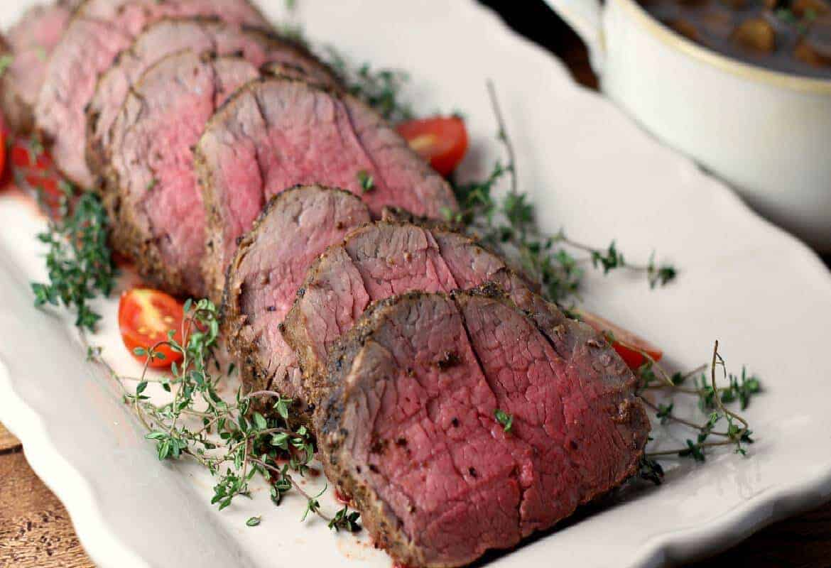 Whole Beef Tenderloin With Garlic Thyme Sunday Supper Movement