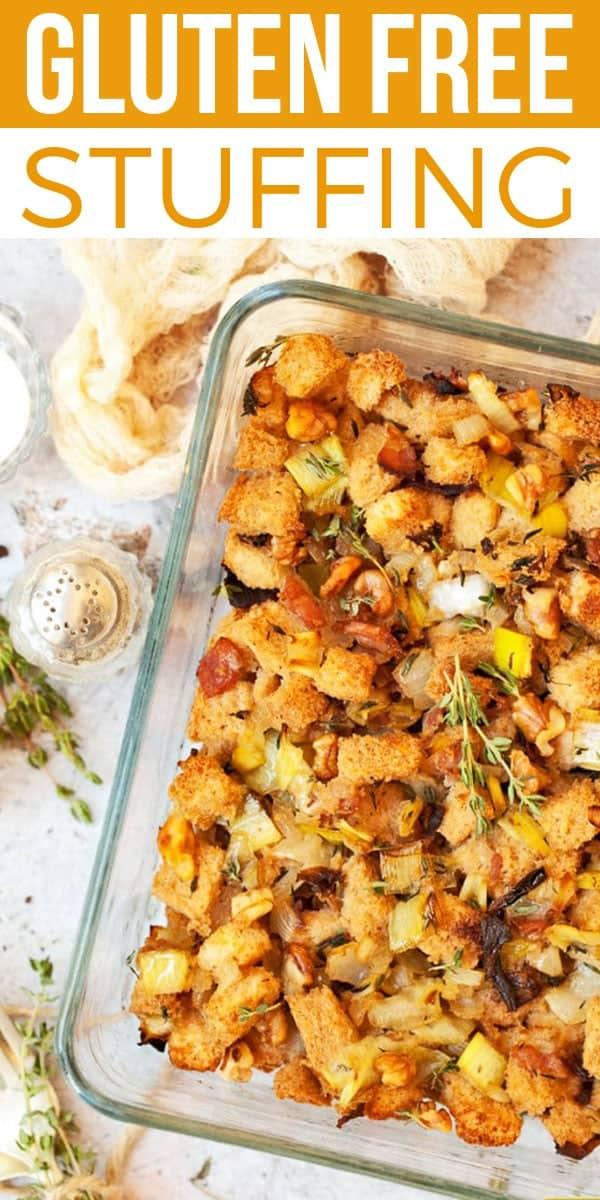 Gluten Free Stuffing on Pinterest