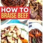 How to braise beef on Pinterest
