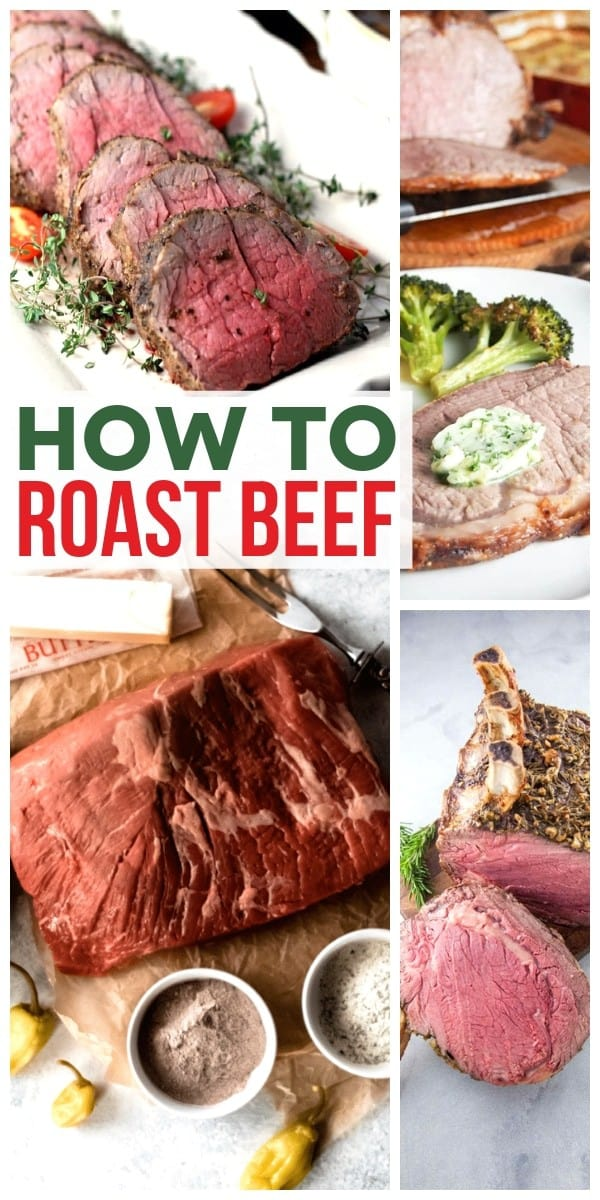 How to Roast Beef on Pinterest