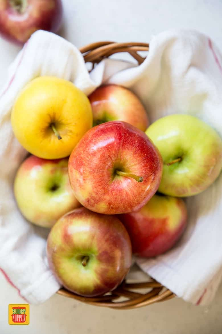 Apple variety for Slow Cooker Applesauce