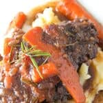 Save Dutch Oven Pot Roast on Pinterest for later!