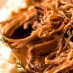 Save Mississippi Pot Roast on Pinterest for Later!