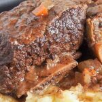 Pin Slow Cooker Short Ribs to save for later!
