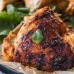 A roasted chicken, perfectly marinated in a simple spicy sauce. This Peri Peri Chicken recipe is brimming with flavor but is so simple to make.