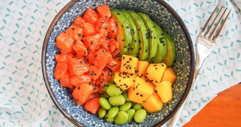 Salmon Poke Bowl Recipe for two